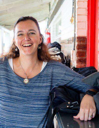 The ever-smiling Mrs Elani Visser, Grade 5 teacher