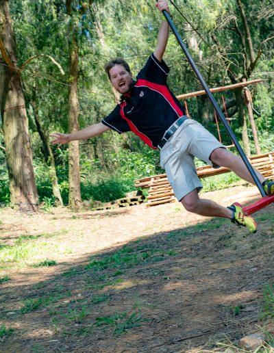 Action man Mr Sean Veenstra, Head of Boys' Sport, Physical Education & Grade 6 tutor